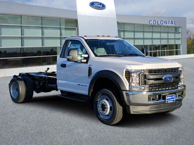 2019 Ford Super Duty F-550 DRW XL 4WD Reg Cab 169 WB 84 CA Plymouth MA