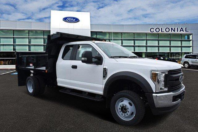 2019 Ford Super Duty F-550 DRW XL 4WD SuperCab 168 WB 60 CA Plymouth MA