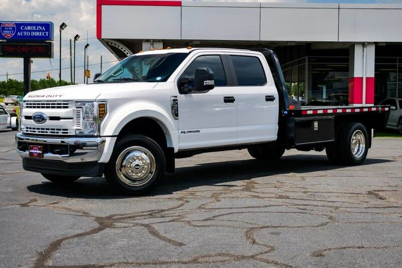 2019 Ford Super Duty F-550 DRW XL **FLAT BED** w/ Storage & Gooseneck Hitch Mooresville NC
