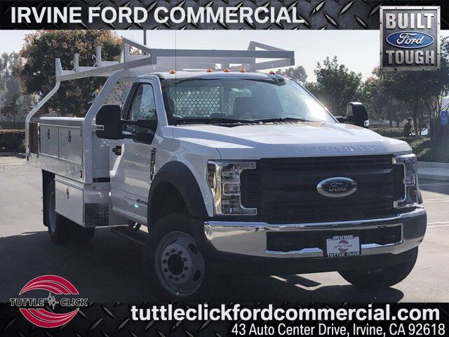 2019 Ford Super Duty F-550 DRW XL Royal 12' Contractor Body Diesel Irvine CA