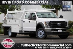 2019_Ford_Super Duty F-550 DRW_XL Scelzi 12' Contractor Body Diesel 4x4_ Irvine CA