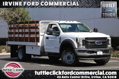 2019_Ford_Super Duty F-550 DRW_XL Scelzi 12' Stake Bed Diesel 4x4_ Irvine CA