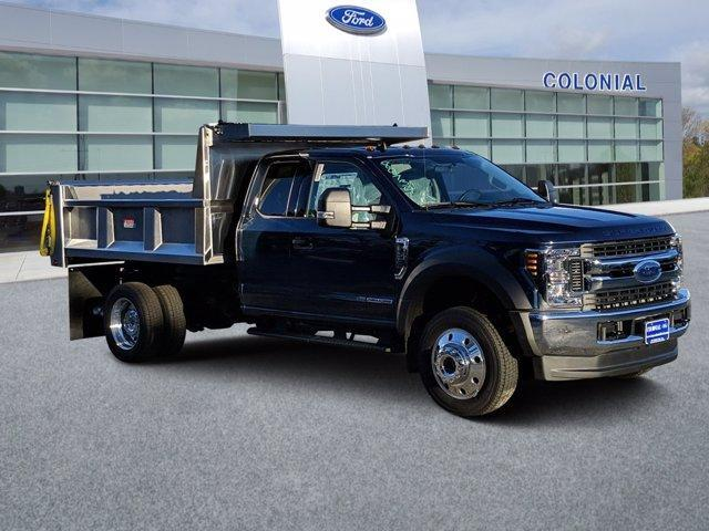 2019 Ford Super Duty F-550 DRW XLT 4WD SuperCab 168 WB 60 CA Plymouth MA