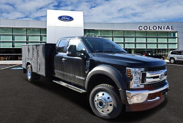 2019 Ford Super Duty F-550 DRW XLT 4WD SuperCab 192 WB 84 CA Plymouth MA