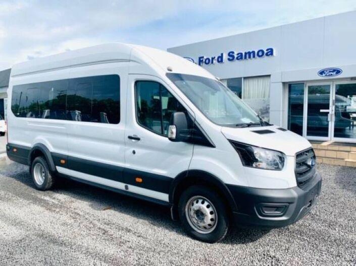 2019 Ford TRANSIT BUS 18 SEATER 2.2L TURBO DIESEL 2WD 6-SPEED MANUAL TRANSMISSION 2.2L DIESEL RWD 6MT Vaitele