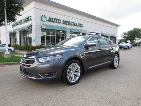 2019 Ford Taurus Limited FWD LEATHER, NAVIGATION, BACKUP CAMERA, BLIND SPOT MONITOR, CLIMATE CONTROL Plano TX