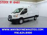 2019 Ford Transit 250 ~ Ladder Rack & Shelves ~ Only 17K Miles!