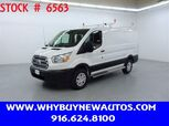 2019 Ford Transit 250 ~ Ladder Rack & Shelves ~ Only 7K Miles!