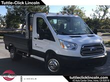 2019_Ford_Transit-350 Chassis Cab DRW_XL Royal 10' Flat Bed Gas_ Irvine CA