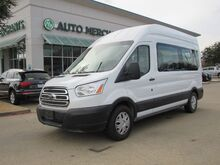 2019_Ford_Transit_350 Wagon High Roof XLT w/Sliding Pass. 148-in. WB BACKUP CAM, BLUTOOTH_ Plano TX