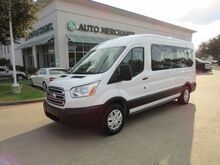 2019_Ford_Transit_350 Wagon Med. Roof XLT w/Sliding Pass. 148-in. WB*BACK UP CAM,15 PASSENGER,UNDER FACTORY WARRANTY!_ Plano TX