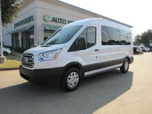 2019_Ford_Transit_350 Wagon Med. Roof XLT w/Sliding Pass. 148-in. WB*BACK UP CAMERA,REAR A/C,UNDER FACTORY WARRANTY!_ Plano TX