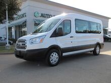 2019_Ford_Transit_350 Wagon Med. Roof XLT w/Sliding Pass. 148-in. WB*BACKUP CAMERA,BRAKE ASSIST,UNDER FACTORY WARRANTY_ Plano TX