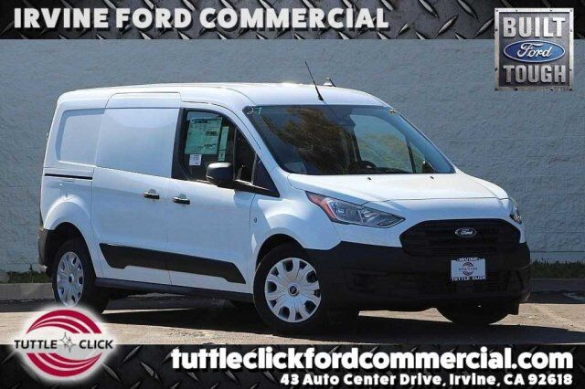 2019 Ford Transit Connect Cargo Van Lwb Xl W Steel Partition