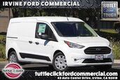 2019 Ford Transit Connect Cargo Van LWB XLT w/ Wire Partition & Window Screens