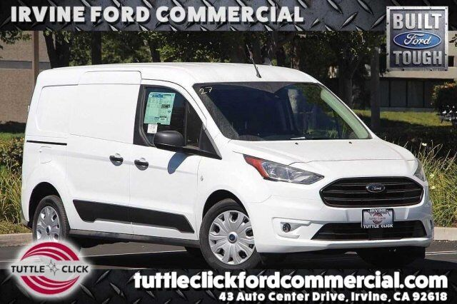 2019 Ford Transit Connect Cargo Van LWB XLT w/ Wire Partition & Window Screens Irvine CA