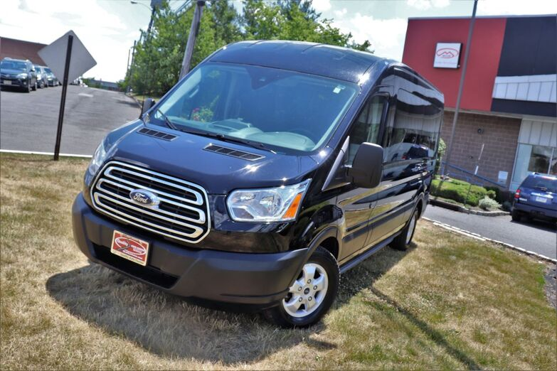 2019 Ford Transit Passenger Wagon XLT Medium Roof 148 Running Boards 15 Passenger 1 Owner Springfield NJ