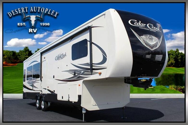 2019 Forest River Cedar Creek 34IK Triple Slide 5th Wheel RV Treated w/Cilajet Anti-Microbial Fog Mesa AZ