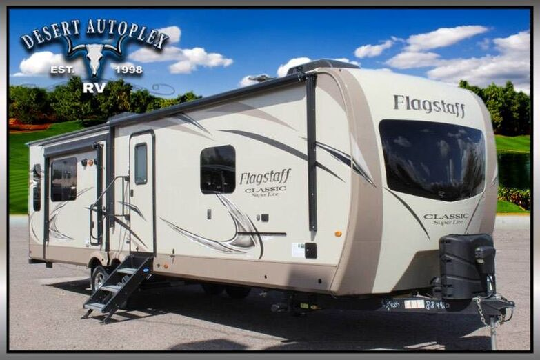 2019 Forest River Flagstaff 8321KBS Classic Triple Slide Travel Trailer Mesa AZ