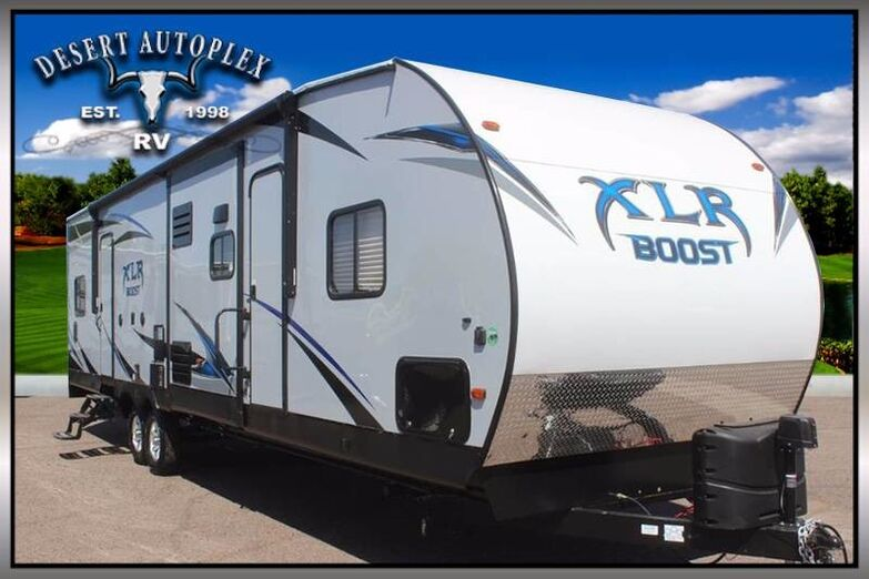 2019 Forest River XLR Boost 31QB Double Slide Toy Hauler Mesa AZ