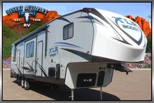 2019 Forest River XLR Boost 36DSX13 Single Slide Fifth Wheel Toy Hauler