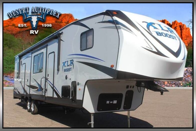 2019 Forest River XLR Boost 36DSX13 Single Slide Fifth Wheel Toy Hauler Mesa AZ