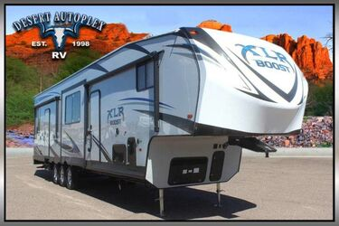 Forest River XLR Boost 37TSX13 Triple Slide Fifth Wheel Toy Hauler Mesa AZ