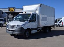 2019_Freightliner_Sprinter Cab Chassis_3500 XD V6 144 RWD with Knapheide 12' Straight Box Van with Lift Gate_ West Valley City UT