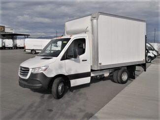 Freightliner Sprinter Cab Chassis 3500 XD V6 144 RWD with Knapheide 12' Straight Box Van with Lift Gate 2019