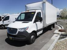 2019_Freightliner_Sprinter_Cab Chassis 3500 XD V6 170 RWD Dually with Knapheide 16' Straight Box Van and Lift Gate_ West Valley City UT