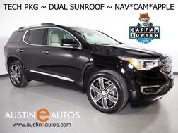 2019_GMC_Acadia Denali_*TECHNOLOGY PKG, NAVIGATION, BLIND SPOT ALERT, COLLISION ALERT w/BRAKING, ADAPTIVE CRUISE, SURROUND CAMERAS, DUAL SKYSCAPE SUNROOF, LEATHER, CLIMATE SEATS, REMOTE START, APPLE CARPLAY_ Round Rock TX