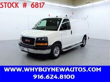 2019_GMC_Savana 2500_~ Ladder Rack & Shelves ~ Only 13K Miles!_ Rocklin CA
