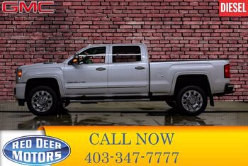 2019_GMC_Sierra 2500HD_4x4 Crew Cab Denali Diesel Leather Roof Nav_ Red Deer AB