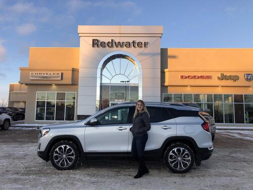 2019_GMC_Terrain_SLT - AWD - Leather - Panoramic Sunroof - Navigation - Remote Start - One Owner_ Redwater AB