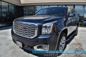 2019 GMC Yukon Denali / 4X4 / Auto Start / Heated & Cooled Leather Seats / Bose Speakers / Sunroof / Navigation / HUD / Blind Spot & Lane Departure / Rear Captain Chairs / 3rd Row / Seats 7 / Tow Pkg / 1-Owner