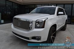 2019_GMC_Yukon_Denali / 4X4 / Auto Start / Heated & Cooled Leather Seats / Bose / Sunroof / Navigation / HUD / Lane Departure & Blind Spot / Adaptive Cruise / Rear Captain Chairs / 3rd Row / Seats 7 / Tow Pkg / 1-Owner_ Anchorage AK