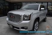 2019 GMC Yukon Denali / 4X4 / Auto Start / Heated & Cooled Leather Seats / Heated Steering Wheel / Bose Speakers / Sunroof / Navigation / HUD / Lane Departure & Blind Spot / 3rd Row / Seats 7 / Tow Pkg / Only 14k Miles / 1-Owner