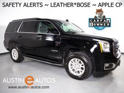 2019_GMC_Yukon SLT_*BLIND SPOT & LANE DEPARTURE ALERT, COLLISION ALERT w/BRAKING, BACKUP-CAMERA, TOUCH SCREEN, LEATHER, CLIMATE SEATS, HEATED STEERING WHEEL, BOSE AUDIO, BLUETOOTH, APPLE CARPLAY_ Round Rock TX