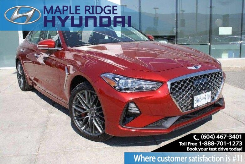 2019 Genesis G70 3.3T Advanced Heated Seats, Backup Camera Maple Ridge BC