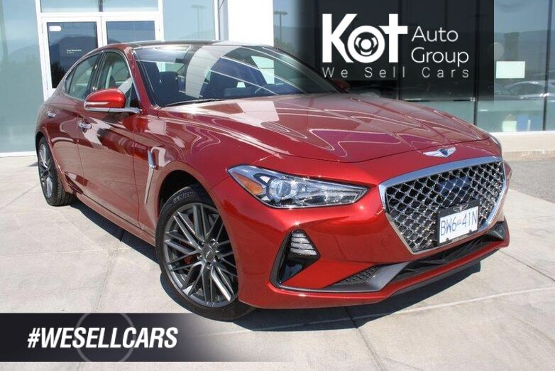 2019 Genesis G70 DYNAMIC low rates 1.99-2.99% Penticton BC