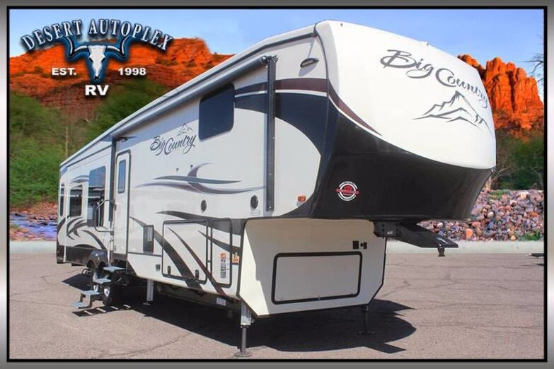 2019 Heartland Big Country 3560 Quad Slide Fifth Wheel RV Treated w/Cilajet Anti-Microbial Fog Mesa AZ