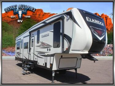 Heartland ElkRidge 37RK Quad Slide Fifth Wheel RV Mesa AZ