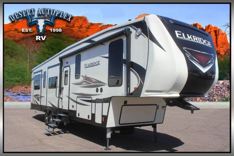 2019 Heartland ElkRidge 37RK Quad Slide Fifth Wheel RV Treated w/Cilajet Anti-Microbial Fog Mesa AZ