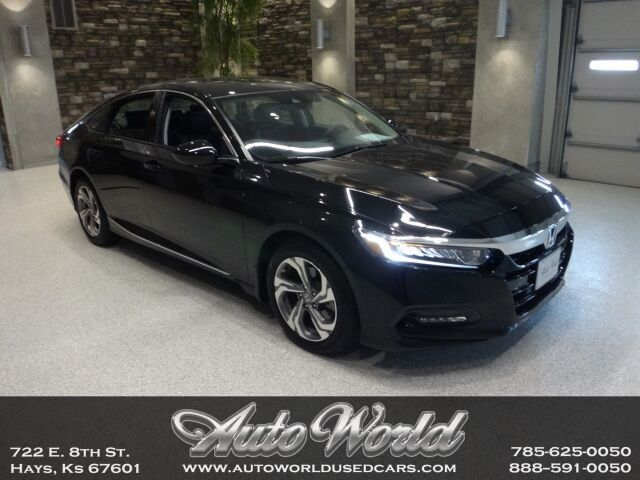 2019 Honda ACCORD EX-L 2.0 TURBO  Hays KS