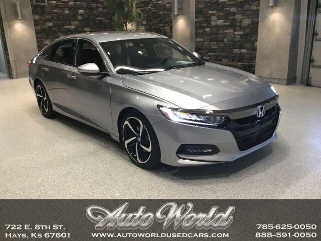 2019 Honda ACCORD SPORT 1.5T  Hays KS