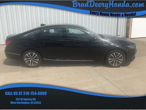 2019_Honda_Accord_Hybrid EX-L_ West Burlington IA