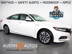 2019_Honda_Accord Hybrid Touring_*HEADS-UP DISPLAY, NAVIGATION, BLIND SPOT & LANE DEPARTURE ALERT, COLLISION ALERT, ADAPTIVE CRUISE, MOONROOF, LEATHER, CLIMATE SEATS, APPLE CARPLAY_ Round Rock TX