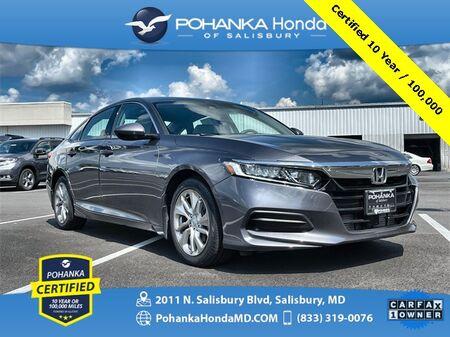 2019_Honda_Accord_LX ** Pohanka Certified 10 Year / 100,000 **_ Salisbury MD