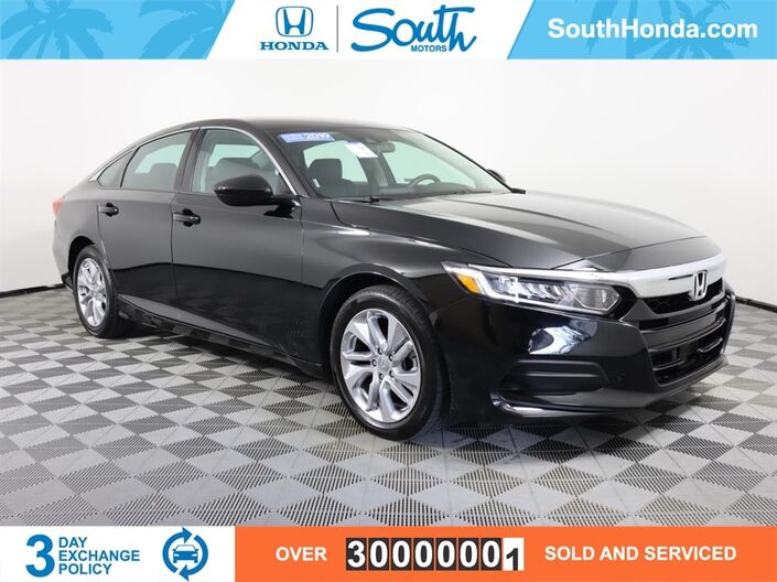 2019 Honda Accord LX Miami FL