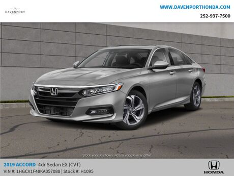 2019 Honda Accord Sedan EX 1.5T CVT Rocky Mount NC
